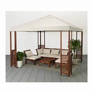 Mobilier Jardin Ikea : pplar tonnelle ikea maison pinterest ikea terrasse terrasses et ext rieur ~ Teatrodelosmanantiales.com Idées de Décoration