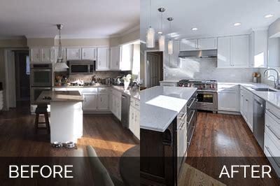 Derek & Christine's Kitchen Before & After Pictures   Home