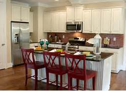 Them Red Or Cover The Seats In A Red Fabric Or Red Pleather Add A Red Gorgeous Red Kitchen Furniture For Home Decorating Ideas With White Interior Design White Kitchen Decor Ideas Design Ideas Eat In Kitchen Ideas Perfect Design 8 On Kitchen Design Ideas