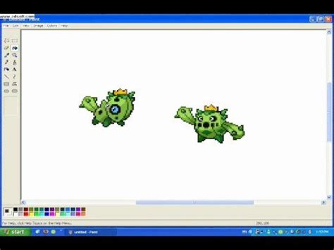 How To Make A Pokemon Sprite Youtube