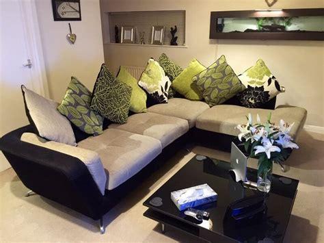 furniture village city corner sofa  shays long