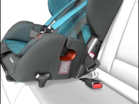 installation du siège auto sport