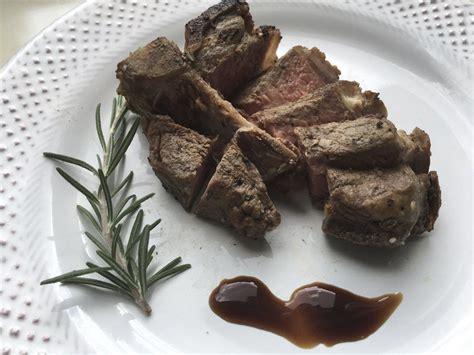 test kitchen   cook lamb loin chops   grill