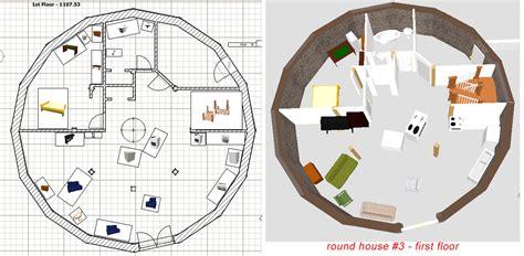 Round Home Designs Limbago Living Room  House Plans #85190