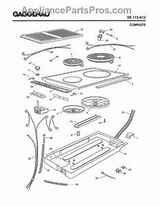 Parts For Gaggenau Ve112