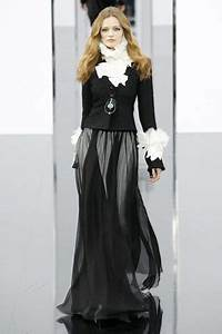 chanel jacket and long skirt