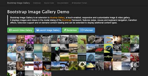 bootstrap gallery 20 best jquery bootstrap plugins for developers code geekz