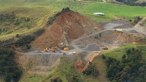 Cava Di Ghiaia - estrazione di materia prima industria nuova zelanda