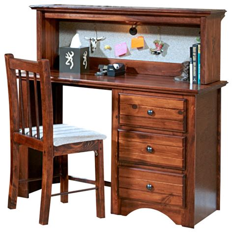 small student desk with hutch chelsea home 3 drawer student desk with hutch in cocoa