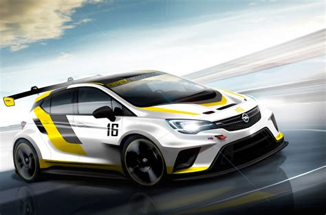 Opel Car : Opel Developing 330-hp Astra Race Car For Tcr Series