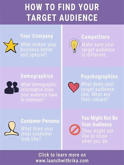 Target Audience Infographic Persona Launch Customer Marketing