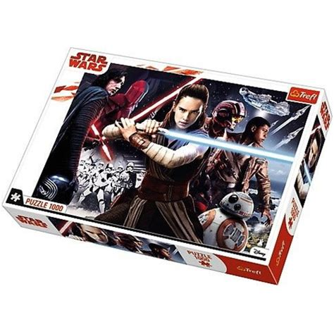 1000-delna sestavljanka Vojna zvezd - Poslednji Jediji - Trefl nakupovanje v IgračeShop