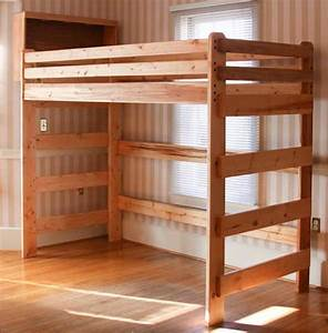 free loft bed plans for college Quick Woodworking Projects