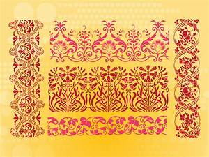 18, Flower, Border, Pattern, Vector, Images