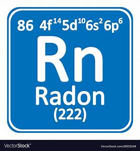 What Is Radon On The Periodic Table