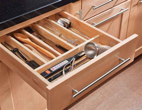 Kitchen Drawer Organizer Gives You Extra Storage  Home