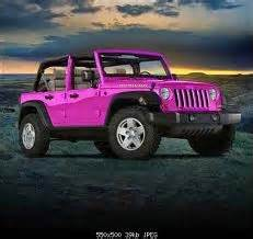pink convertible jeep pink jeep wrangler pink cars pink trucks pink suv pink