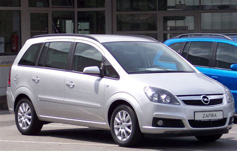Opel Zafira opel zafira b den frie encyklop 230 di
