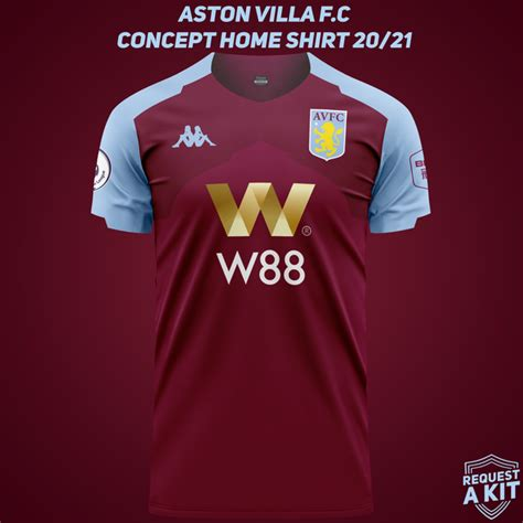 Aston Villa kit 2020/21: The killer Kappa concepts fans ...