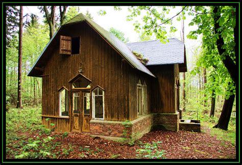 Kleines Haus Im Wald Foto & Bild  Erzgebirge, World