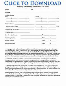 Free printable wedding photography contract template form for How to make a wedding photography contract