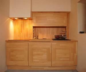Cuisine Bois Massif : modele de cuisine en bois massif ~ Premium-room.com Idées de Décoration