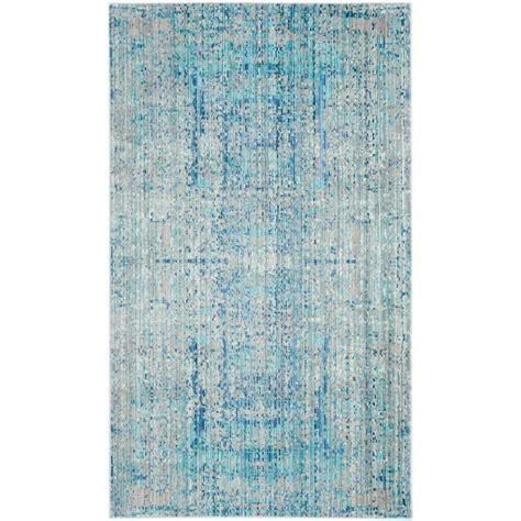blue rug living room safavieh mystique light blue multi 3 ft x 5 ft area rug