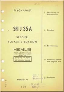 Saab J 35 A Aircraft Flight Manual  Speciell
