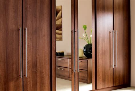 Wooden Wardrobe With Mirror by Mirror Wardrobe Doors Are A Wonderful Feature Of The