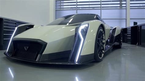 New Electric Car Technology by Concept The All Electric Hyper Car Dendrobium Motors Master