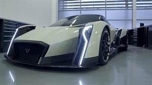Concept the all-electric hyper car Dendrobium