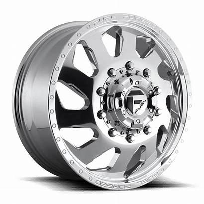 Wheels Dually Lug Fuel Polished Rims Custom