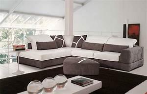 Canape soft en microfibres vente meubles et mobilier for Formation decorateur interieur avec fauteuil design italien cuir