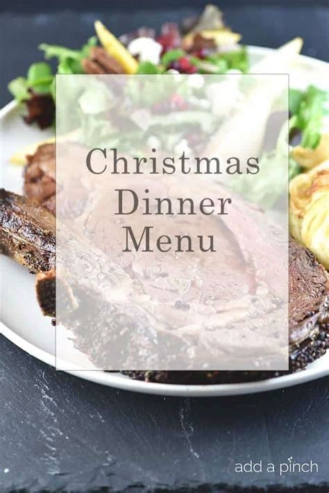 This recipe by jamie purviance gives you not only all of the help to make your prime rib day memorable, but a wonderful pearl mushroom side to put your dinner over the top. Christmas Dinner Prime Rib Sides Menu - You've just sat ...