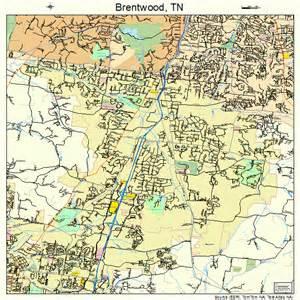 Street Map Brentwood TN
