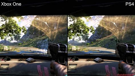 Kaos One One Graphic 5 far cry 4 ps4 vs xbox one graphics comparison