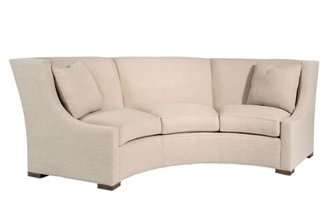 Curved Settee Pearson 2233 3 Dramatic Curved Sofa Great Conversational