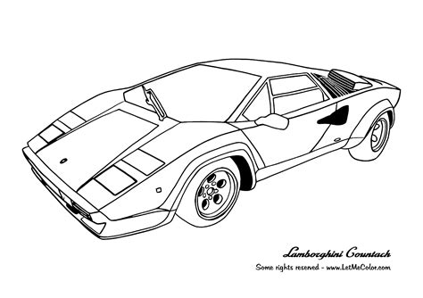 Coloring Pagescars Coloring Pages Printable Free Cars