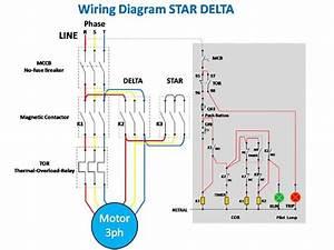Star Delta Wiring Diagram In