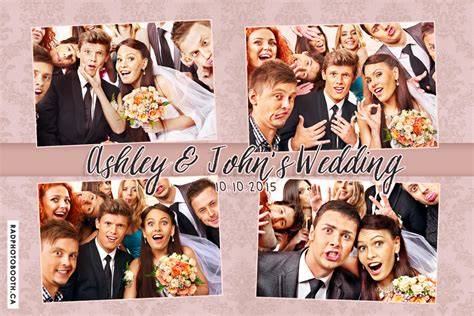 wedding photo booth template rad photo booth gallery gta