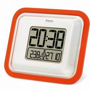 Uhr Für Aussenbereich : oregon outdoor funk wanduhr jm888 orange aussenbereich uhr f r draussen digital ebay ~ Orissabook.com Haus und Dekorationen