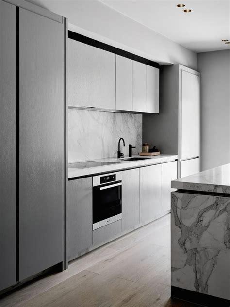 flack studio atwoodswarner modern grey kitchen