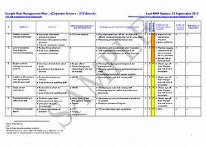 plan risk management plan template With event risk management template
