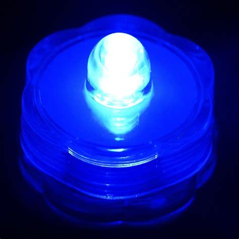 waterproof led lights brilliant submersible vase lights led blue 12 pk efavormart