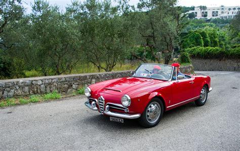 Alfa Romeo Giulia 16 Spider 1962  Car Hire Amalfi Coast