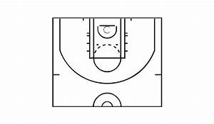 How To Make A Basketball Court Diagram