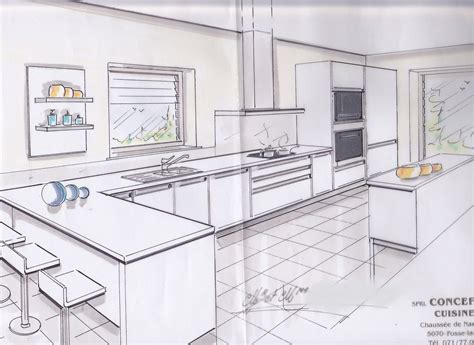 faire plan cuisine installer une cuisine tout savoir pour la concevoir la