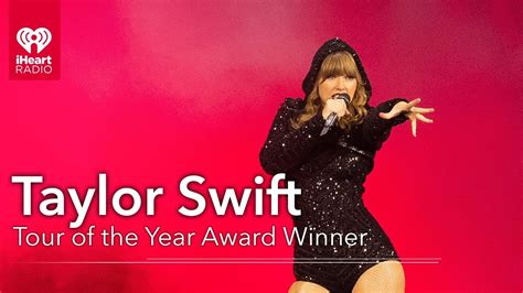 Taylor Swift Acceptance Speech - Tour of the Year Award ...