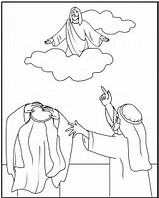 HD Wallpapers Coloring Page Of Jesus Going To Heaven