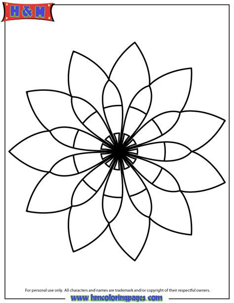 simple mandala  coloring page   coloring pages
